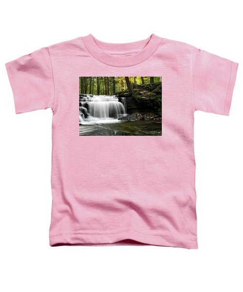 Serenity Waterfalls Landscape Toddler T-Shirt