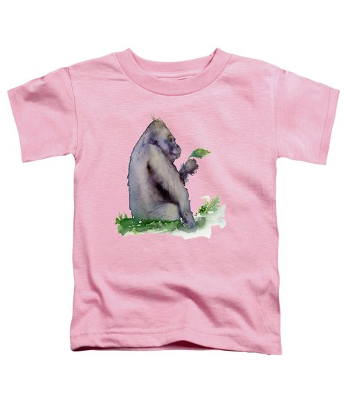 Seriously Speaking Toddler T-Shirt by Amy Kirkpatrick
