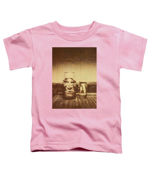 Severed And Preserved Head And Hand In Jars Toddler T-Shirt
