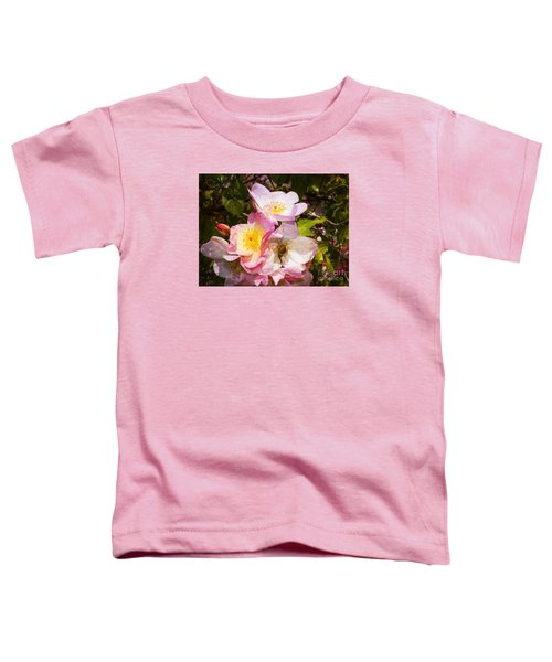 Shakespeares Summer Roses Toddler T-Shirt