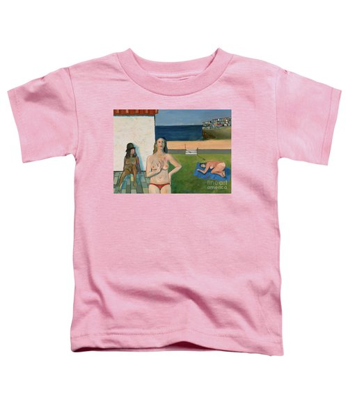 She Walks In Beauty Toddler T-Shirt