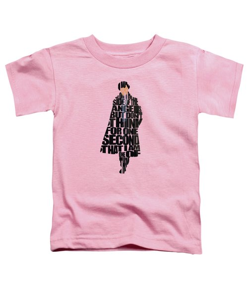 Sherlock - Benedict Cumberbatch Toddler T-Shirt