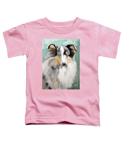 Shetland Sheep Dog Toddler T-Shirt