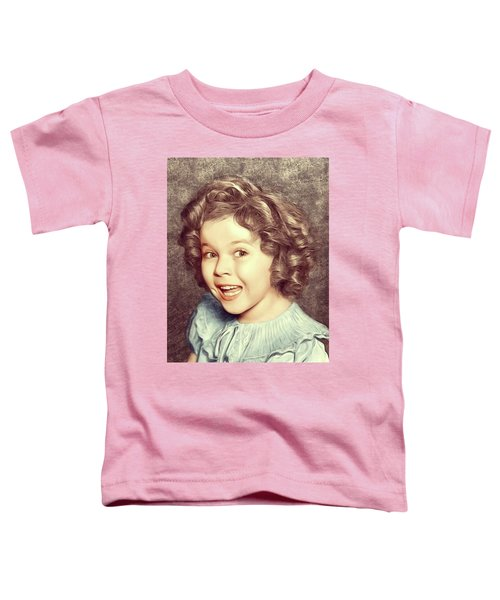 Shirley Temple, Actress Toddler T-Shirt