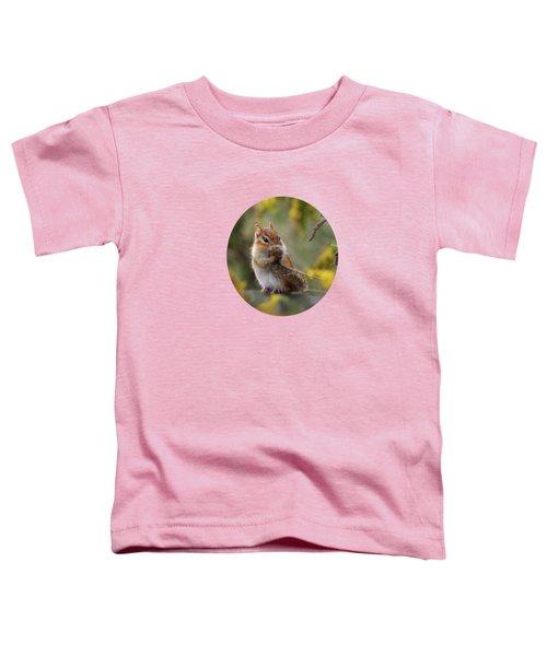 Shy Little Chipmunk Toddler T-Shirt