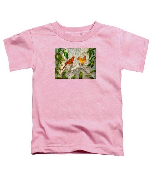 Singing Of Love Toddler T-Shirt