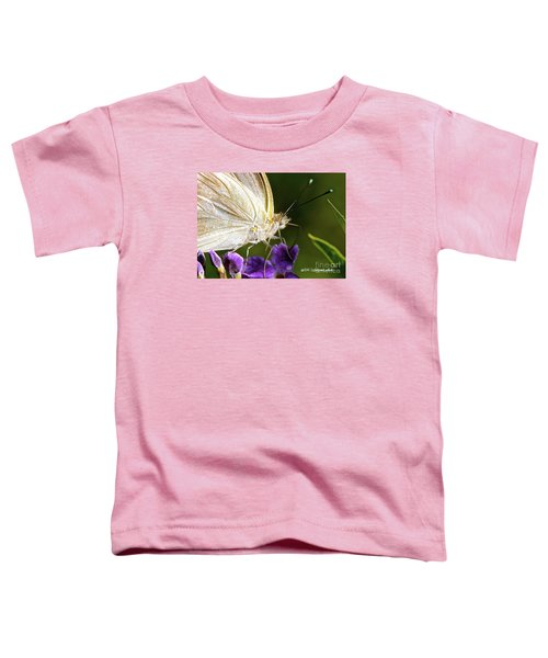 Sipping Purple Toddler T-Shirt
