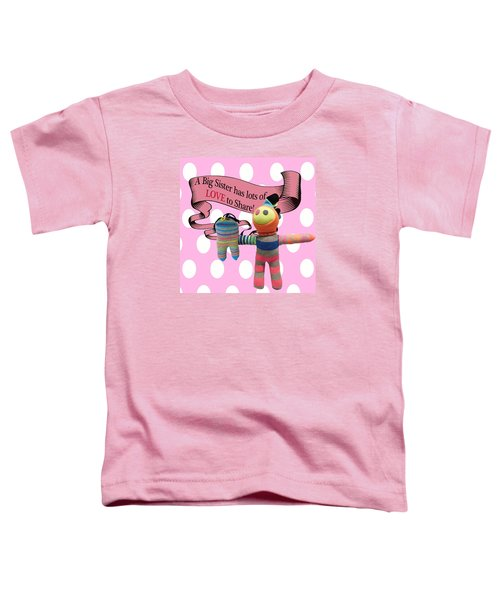 Sister Love Toddler T-Shirt