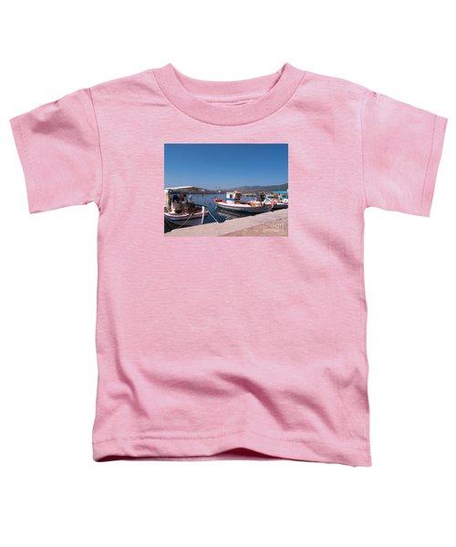 Skala Kalloni Lesvos Toddler T-Shirt