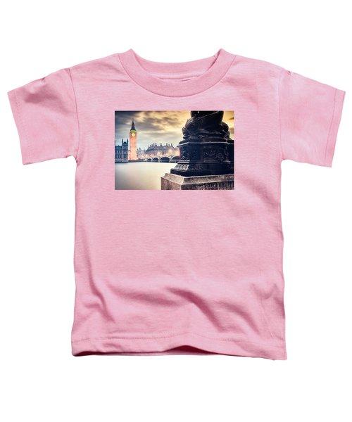 Skies Over London Toddler T-Shirt