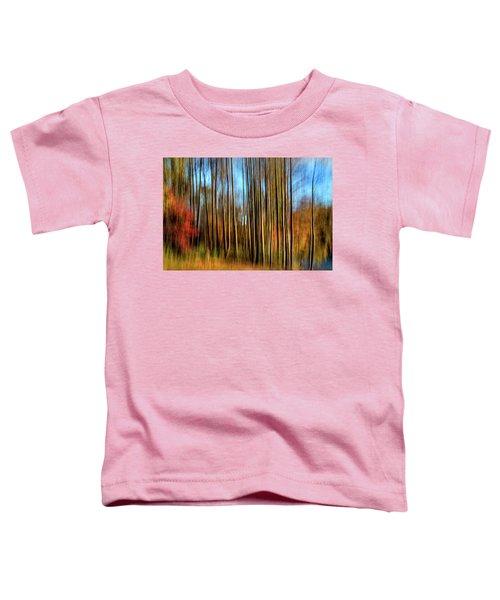 Skinny Forest Swipe Toddler T-Shirt