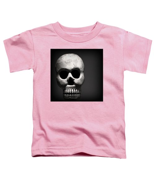 Skull Toddler T-Shirt by Joseph Skompski