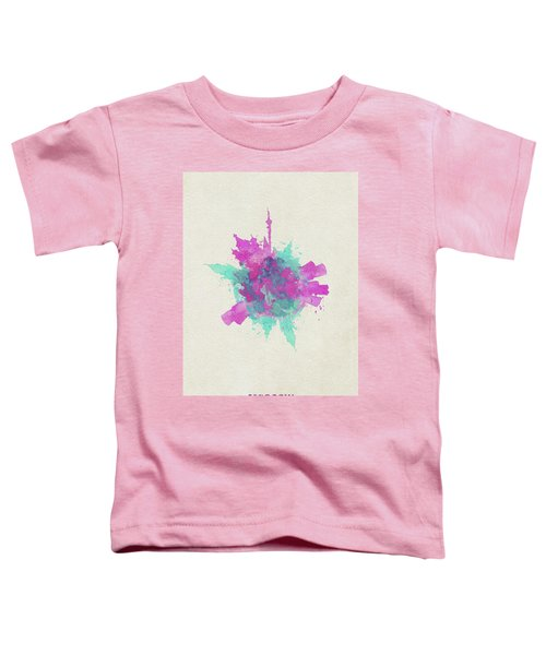 Skyround Art Of Moscow, Russia Toddler T-Shirt