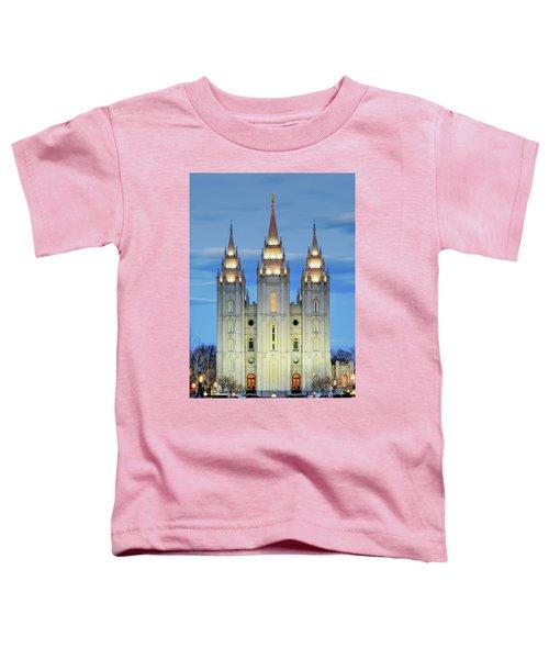 Slc Temple Blue Toddler T-Shirt