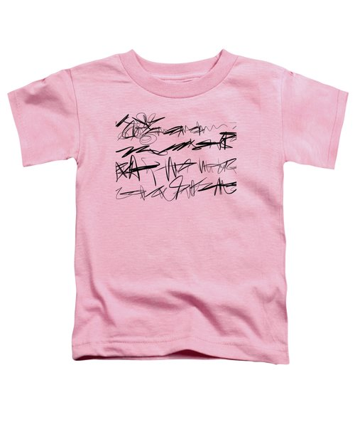 Sloppy Writing Toddler T-Shirt