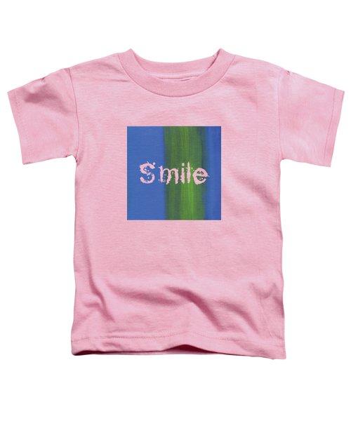 Smile Toddler T-Shirt