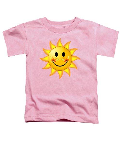 Smiley Face Sun Toddler T-Shirt
