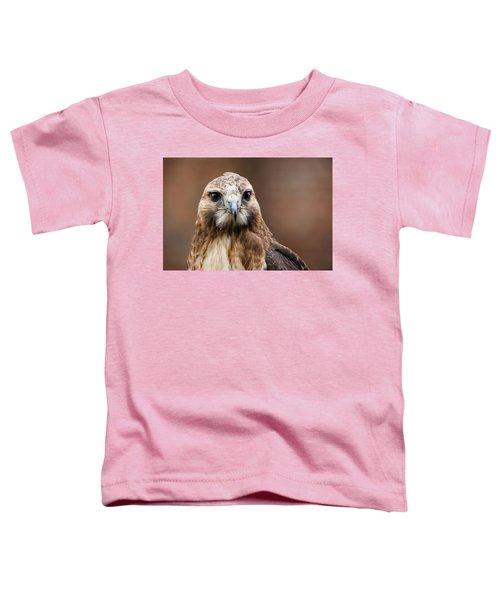 Smiling Bird Of Prey Toddler T-Shirt