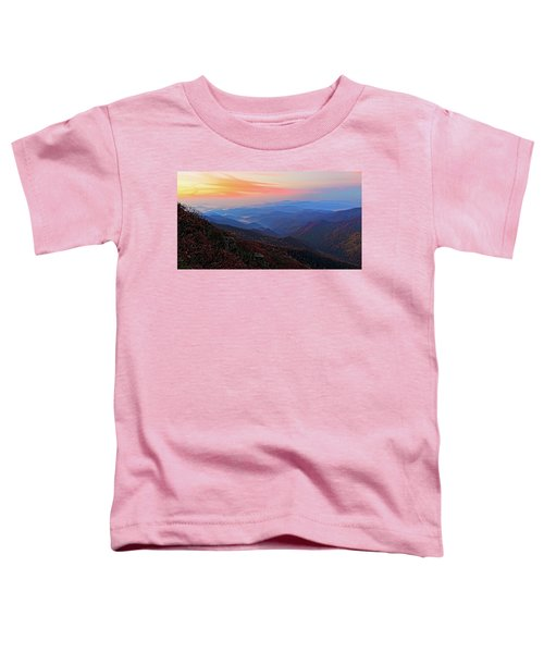 Dawn From Standing Indian Mountain Toddler T-Shirt