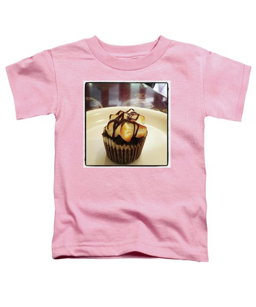 Toddler T-Shirt featuring the photograph smore Miniature Cupcake N Coffee by Mr Photojimsf