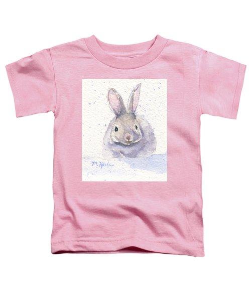 Snow Bunny Toddler T-Shirt