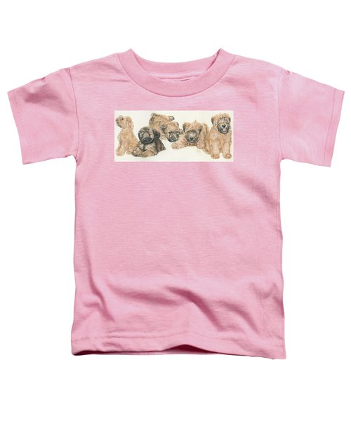 Soft-coated Wheaten Terrier Puppies Toddler T-Shirt