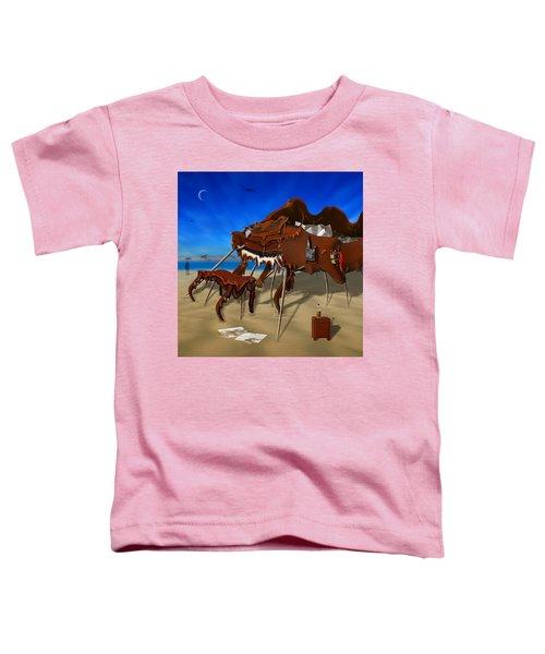 Soft Grand Piano Man Toddler T-Shirt