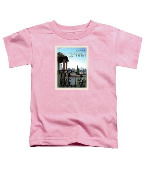 Sojourn In Espania Toddler T-Shirt