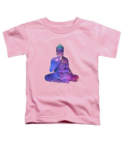 Space Buddha Dictionary Art Toddler T-Shirt
