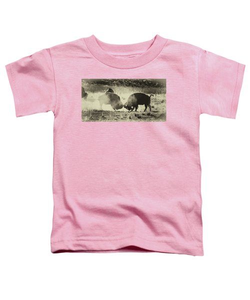 Sparring Partners - American Bison Toddler T-Shirt
