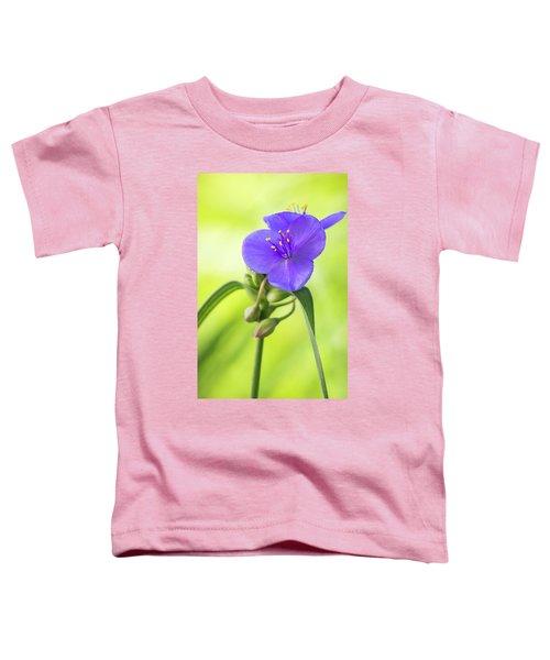 Spiderwort Wildflower Toddler T-Shirt