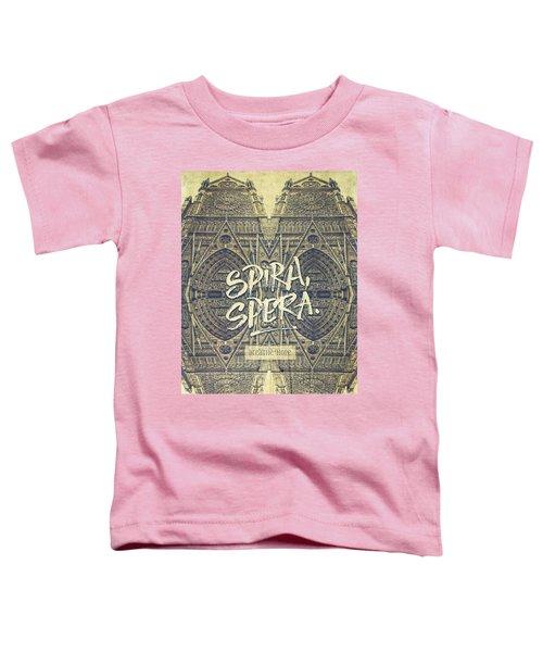 Spira Spera Victor Hugo Novel Notre-dame De Paris Toddler T-Shirt
