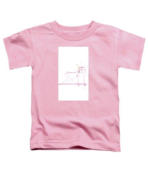 Spirit Animal . Ghost Fox Toddler T-Shirt