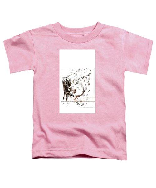 Spirit Animal . Wolf Toddler T-Shirt