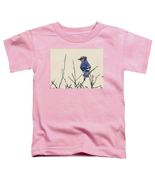Spring Bluejay Toddler T-Shirt