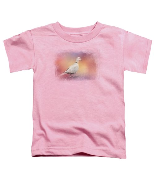 Spring Eurasian Collared Dove Toddler T-Shirt by Jai Johnson