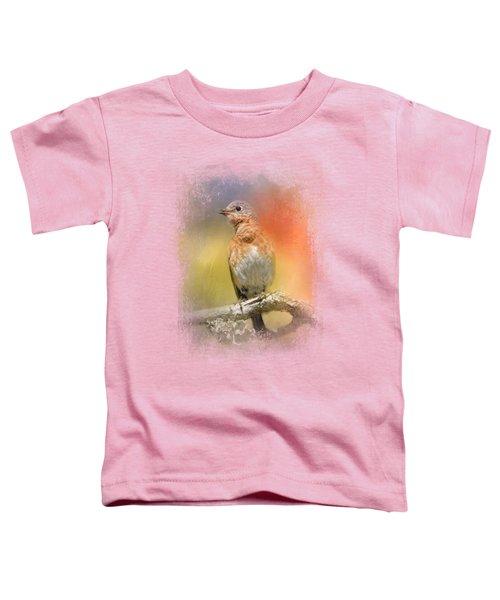 Spring Song Toddler T-Shirt by Jai Johnson