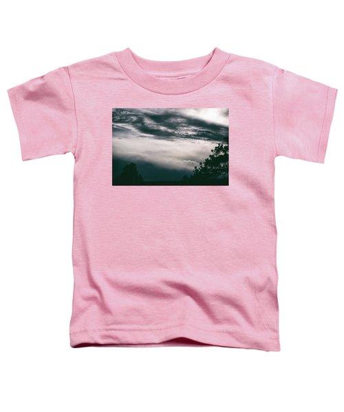 Spring Storm Cloudscape Toddler T-Shirt
