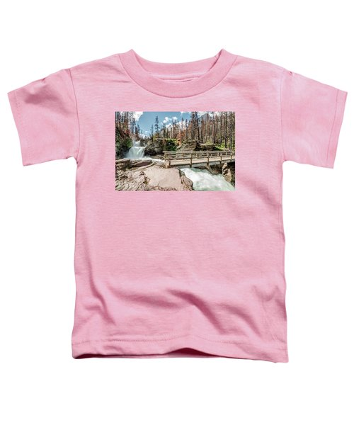 St. Mary Falls With Bridge Toddler T-Shirt