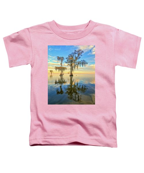 Standing On The Edge Toddler T-Shirt
