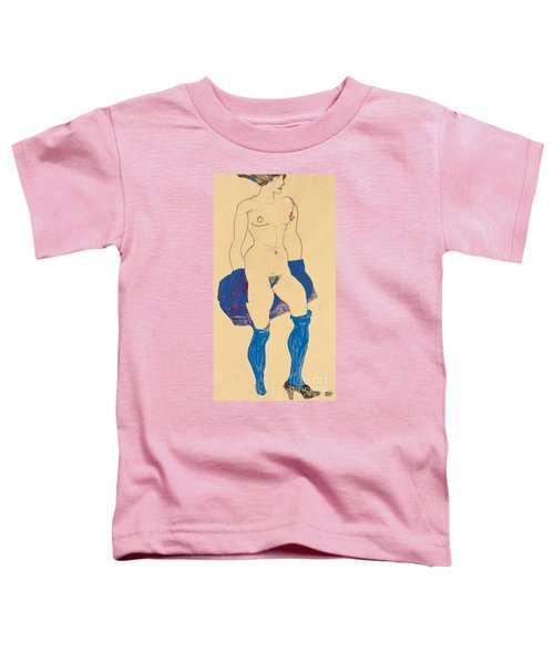 Standing Woman With Shoes And Stockings Toddler T-Shirt