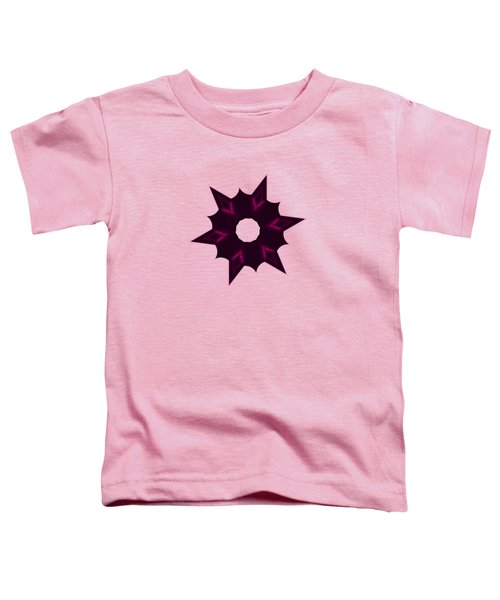 Star Record No. 7 Toddler T-Shirt by Stephanie Brock