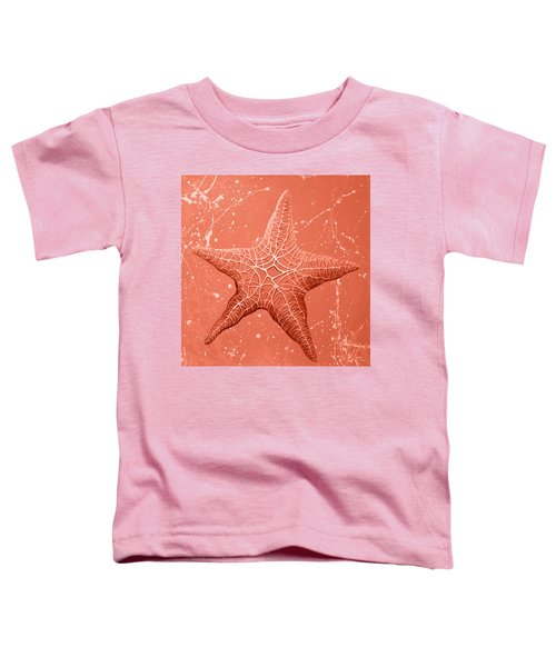 Starfish In Pink Toddler T-Shirt