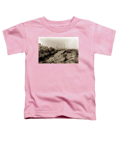Steam Schooner S S J. B. Stetson, Ran Aground At Cypress Point, Sep. 1934 Toddler T-Shirt