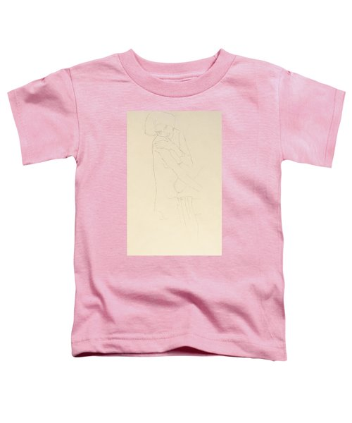 Study For Adele Bloch Bauer II Toddler T-Shirt by Gustav Klimt