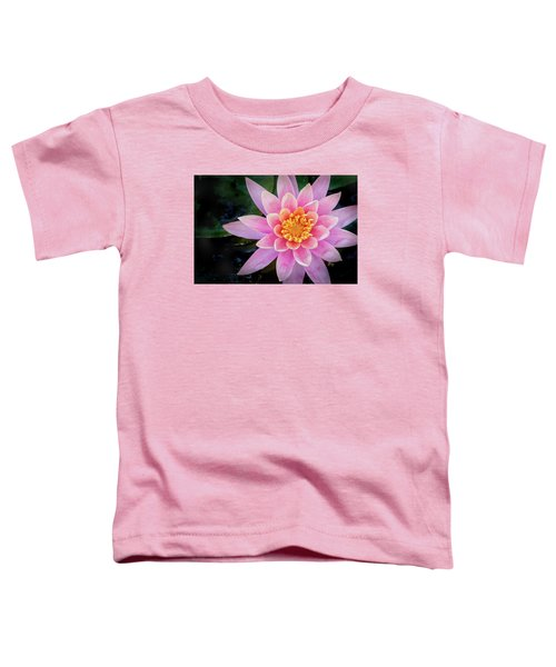 Stunning Water Lily Toddler T-Shirt