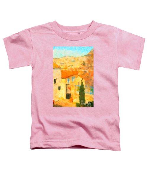 Summer In Athens Toddler T-Shirt