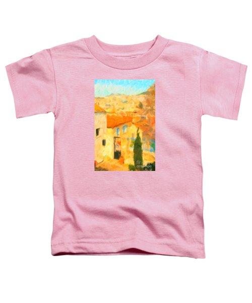 Summer In Athens Toddler T-Shirt