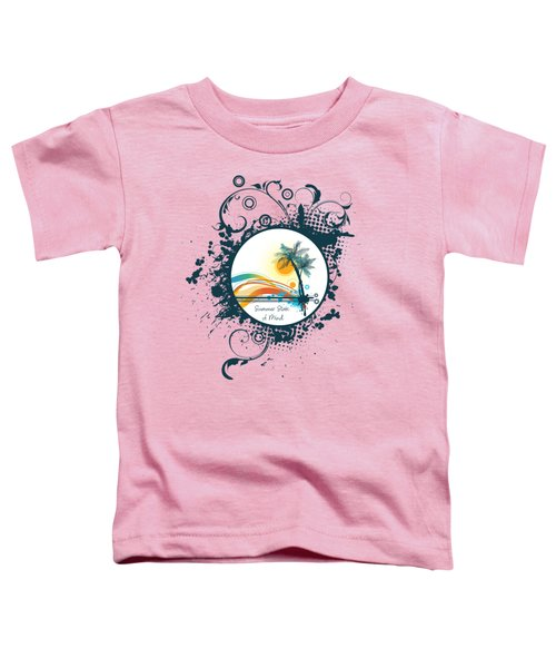 Summer State Of Mind Toddler T-Shirt