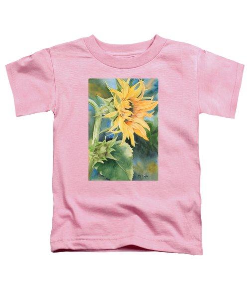 Summer Sunflower Toddler T-Shirt